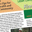 The Lassen Country Fire Safe Council has sent out the latest Firewise Gazette. If you didn't receive a copy and would like one, you may download a copy now or  […]