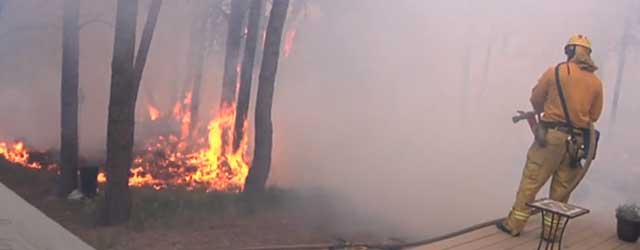 Steve Schopper, Audio/Visual Specialist for the Colorado Springs Fire Department, documented and describes structure protection during the Black Forest Fire. Recorded Wednesday, June 12, 2013 at at approximately 3:30 p.m....