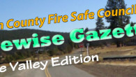 "Shared Responsibility, Shared Successes. . . . . Little Valley taking steps to become the next Lassen County ""Firewise Community"" Read the Little Valley Newsletter. Read the Little Valley Assessment-ActionPlan"